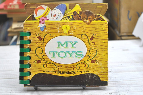 MY TOYS,A Chubby PLAYSKOOL,Playbook,JOE Kaufman,古書,古本,千葉,佐倉,京成佐倉,アベイユブックス,手芸