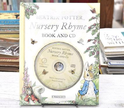 Beatrix Potter,ビアトリクスポター,Nursery Rhyme Book and CD,古書,古本,千葉,佐倉,,京成佐倉,アベイユブックス