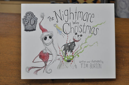 The Nightmare Before Christmas,20th Anniversary Edition,ナイトメア,Tim Burton,ティム・バートン,洋書絵本,ハロウィン,絵本,童話,古書,古本,千葉,佐倉,アベイユブックス