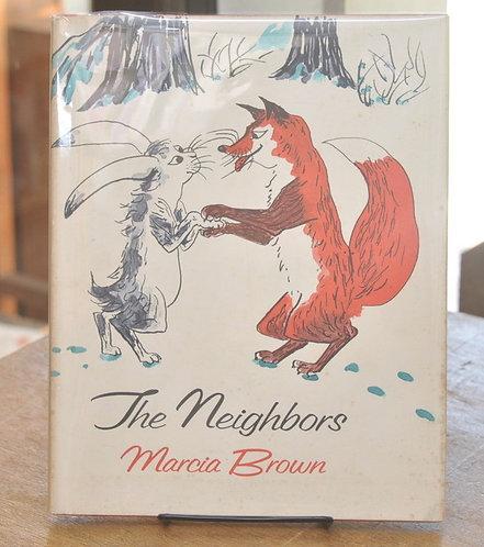 The Neighbors,もりのともだち,マーシャ・ブラウン,Marcia Brown,古書,古本,絵本,京成佐倉,アベイユブックス