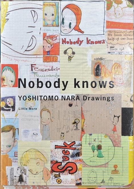 奈良美智,Nobody Knows,,Moma,drawings,ドローイングブックス,古書,古本,千葉,佐倉,京成佐倉,アベイユブックス