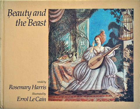 Beauty and the Beast,Rosemary Harris,E. Le Cain,絵本,美女と野獣,古書,古本,千葉,佐倉,アベイユブックス