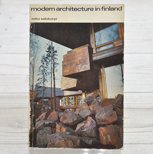 Modern Architecture in Finland,Asko Salokorpi,アスクサロコーピ,フィンランド,北欧,建築,洋書,古書,古本,千葉,佐倉,アベイユブックス