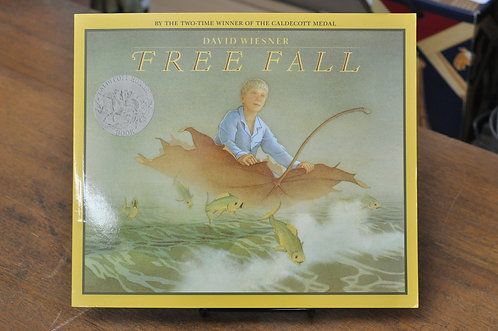 Free Fall,David Wiesner,ウィーズナー,フリーフォール,洋書絵本,絵本,童話,古書,古本,千葉,佐倉,アベイユブックス