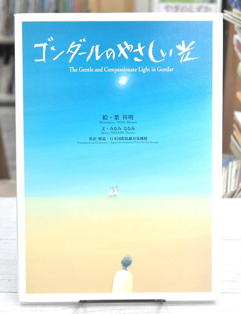 ゴンダールのやさしい光,みなみななみ,葉 祥明,日本国際飢餓対策機構,古書,古本,絵本,京成佐倉,アベイユブックス