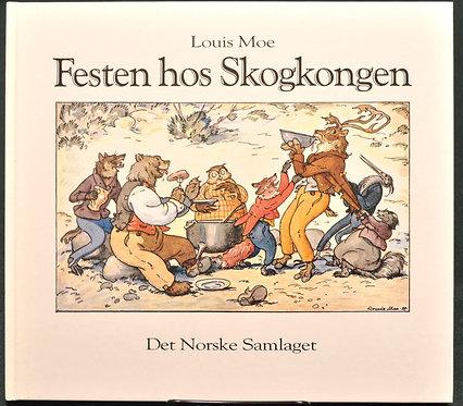 Festen hos Skogkongen,森の王様のパーティー,Louis Moe,ルーイス・モー,ソンリーサ,Sonrisa,洋書,挿絵,古書,古本,千葉,佐倉,アベイユブックス