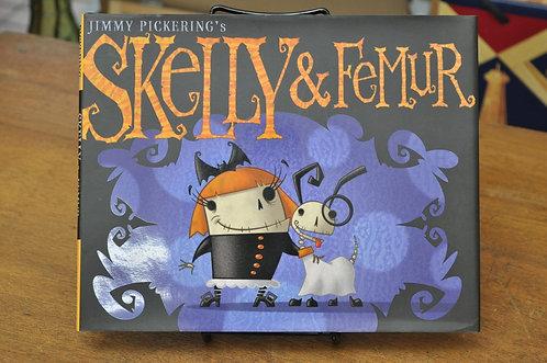 Skelly & Femur,Jimmy Pickering,スケルトンガール,スケリー,洋書絵本,ハロウィン,絵本,童話,古書,古本,千葉,佐倉,アベイユブックス