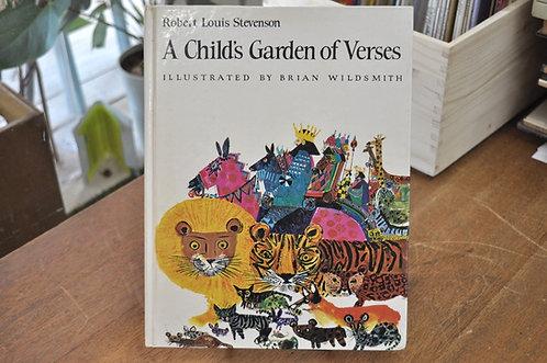 A child's garden of verses,stevenson,スティーブンソン,宝島,B・ワイルドスミス,古書,古本,千葉,佐倉,,京成佐倉アベイユブックス