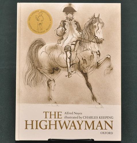 The Highwayman,チャールズ・キーピング,Alfred Noyes,C. Keeping,古書,古本,千葉,佐倉,京成佐倉,アベイユブックス