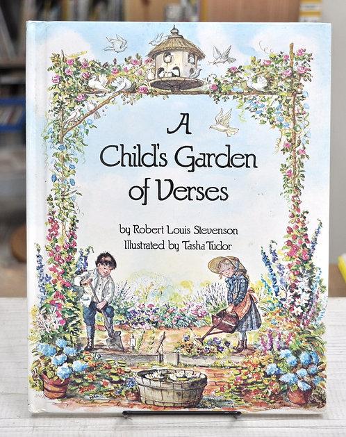 A Childs Garden of Verses,Robert Louis Stevenson,Tasha Tudor,古書,古本,千葉,佐倉,京成佐倉,アベイユブックス