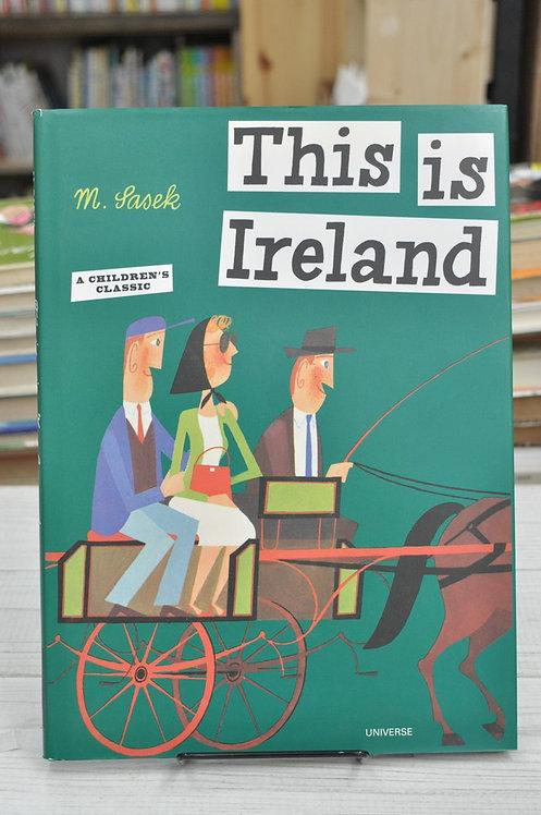 This Is Ireland,This Is...travel,Sasek,サセック,ジス・イズ・アイルランド,古書,古本,絵本,京成佐倉,アベイユブックス
