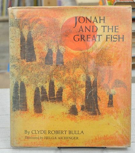JONAH AND THE GREAT FISH,ヘルガ・アイヒンガー,大きな魚にのまれたヨナ,HELGA AICHINGER,古書,古本,絵本,京成佐倉,アベイユブックス