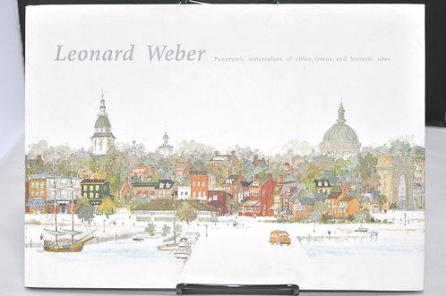 レオナルド・ウェーバー,Leonard Weber,Panoramic watercolors of cities,古書,古本,千葉,佐倉,京成佐倉,アベイユブックス