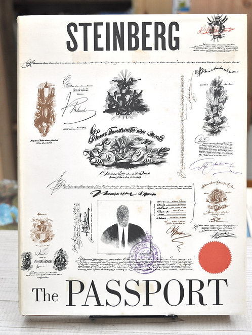 Saul Steinberg,The Passport ,ソウル・スタインバーグ,パスポート,古書,古本,千葉,佐倉,京成佐倉,アベイユブックス