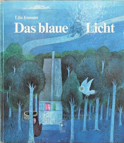 洋書,リロ・フロム,青いランプ,das blaue licht,絵本,童話,古書,古本,千葉,佐倉,アベイユブックス