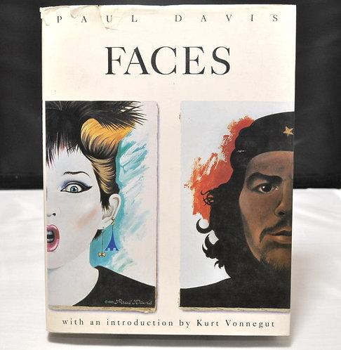 Faces,Paul Davis Portraits,Paul Davis,Kurt Vonnegut,ポール・デイビス,古書,古本,千葉,佐倉,京成佐倉,アベイユブックス