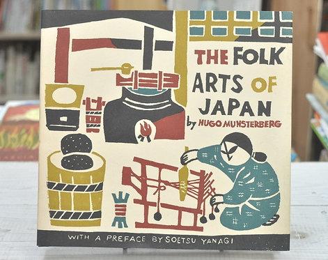 The Folk Arts of Japan,MUNSTERBERG,柳宗悦,古書,古本,千葉,佐倉,京成佐倉,アベイユブックス