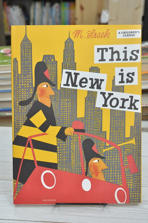 This Is New York ,This Is...travel,Sasek,サセック,ジス・イズ・ニューヨーク,古書,古本,絵本,京成佐倉,アベイユブックス