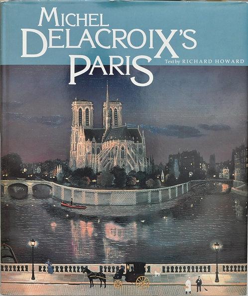 Michel Delacroix's Paris,ミシェル・ドラクロア,洋書,挿絵,古書,古本,千葉,佐倉,アベイユブックス