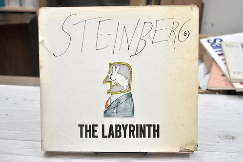 Saul Steinberg,The Labyrinth ,ソウル・スタインバーグ,ラビリンス,古書,古本,千葉,佐倉,京成佐倉,アベイユブックス