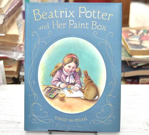 Beatrix Potter And Her Paint Box,ビアトリクスポター,デイビット・M・マクファイル,古書,古本,千葉,佐倉,,京成佐倉,アベイユブックス