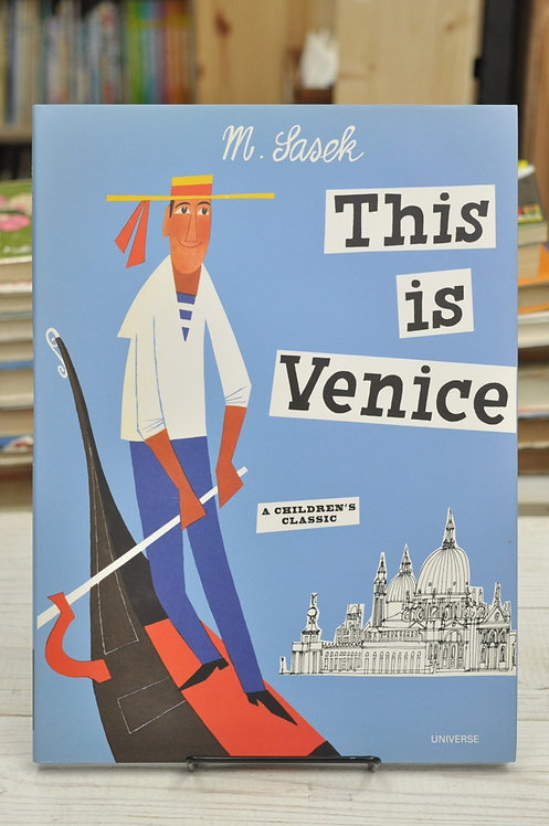 This Is Venice,This Is...travel,サセック,ジス・イズ・ベニス,ジス・イズ・ヴェニス,古書,古本,絵本,京成佐倉,アベイユブックス