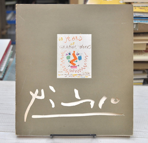 Picasso,60years of,Graphic Works Paperback,古書,古本,千葉,佐倉,,京成佐倉,アベイユブックス