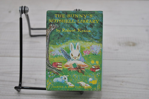 THE BUNNY'S NUTSHELL LIBRARY,うさぎの豆文庫,ロバート・クラウス,古書,古本,千葉,佐倉,,京成佐倉アベイユブックス