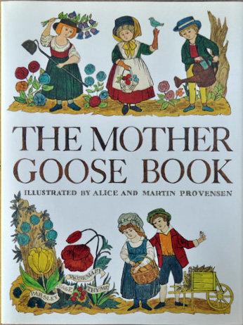 MOTHER GOOSE BOOK,Alice Provensen,マザーグース,絵本,古書,古本,千葉,佐倉,アベイユブックス