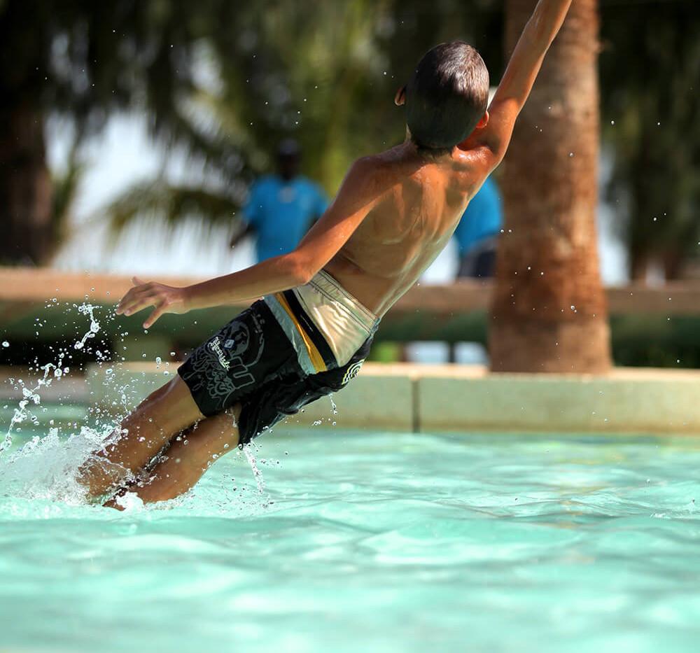 Jeux de piscine