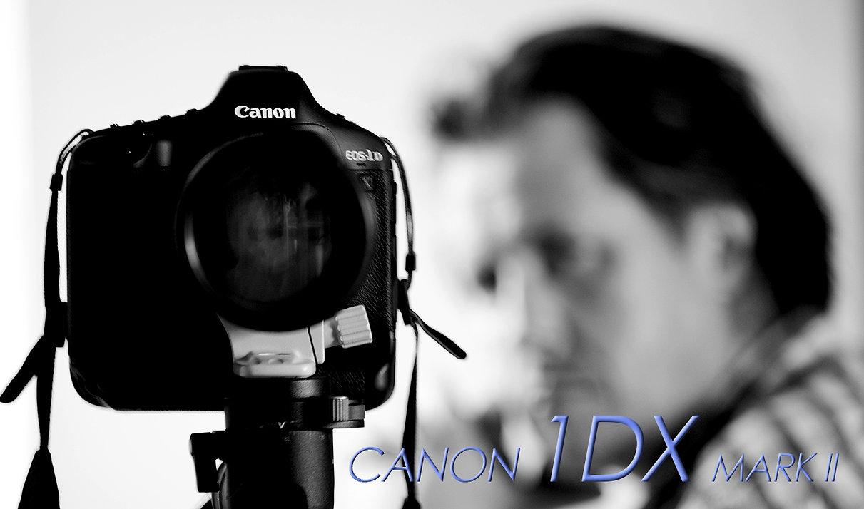 Christophe Tardy travaille avec le Canon 1DX Mark II