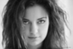 Portrait de Léa comédienne, par Christophe Tardy