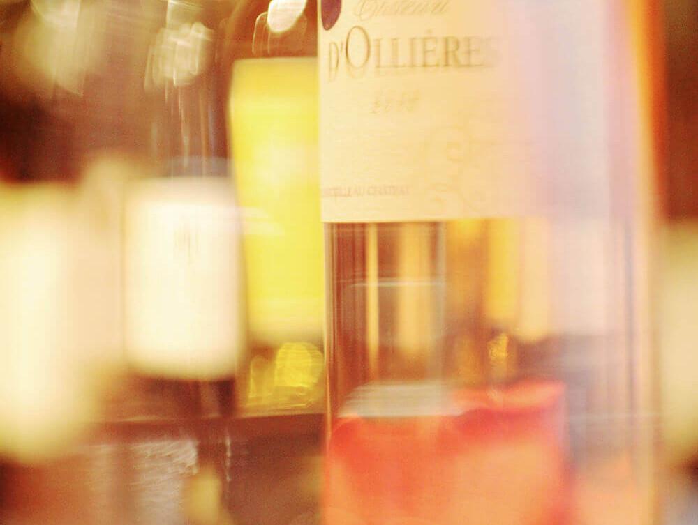 Vin chateau d'Ollières
