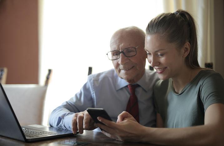 Senior granddaughter phone 2.jpg