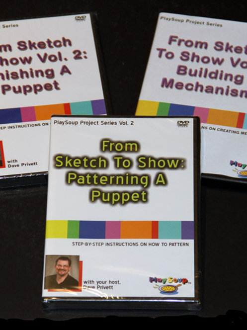 """Sketch To Show: The Complete Process"" DVD"