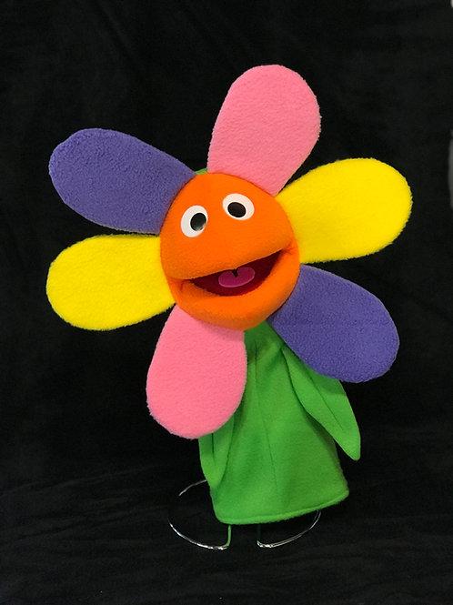 Fancy Flower Puppet