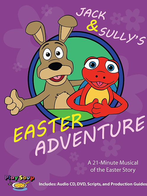 """Jack & Sully's Easter Adventure"""