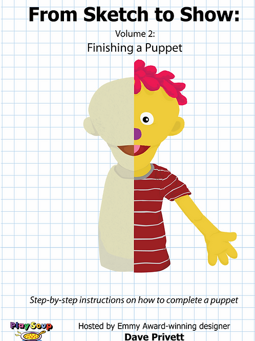 Sketch To Show Vol. 2: Finishing A Puppet DVD