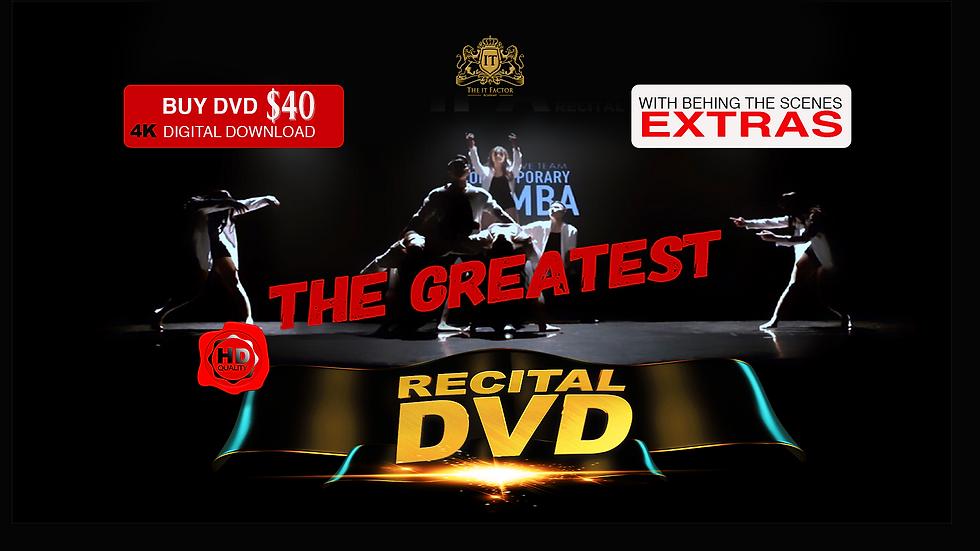 The it Factor Academy Recital DVD