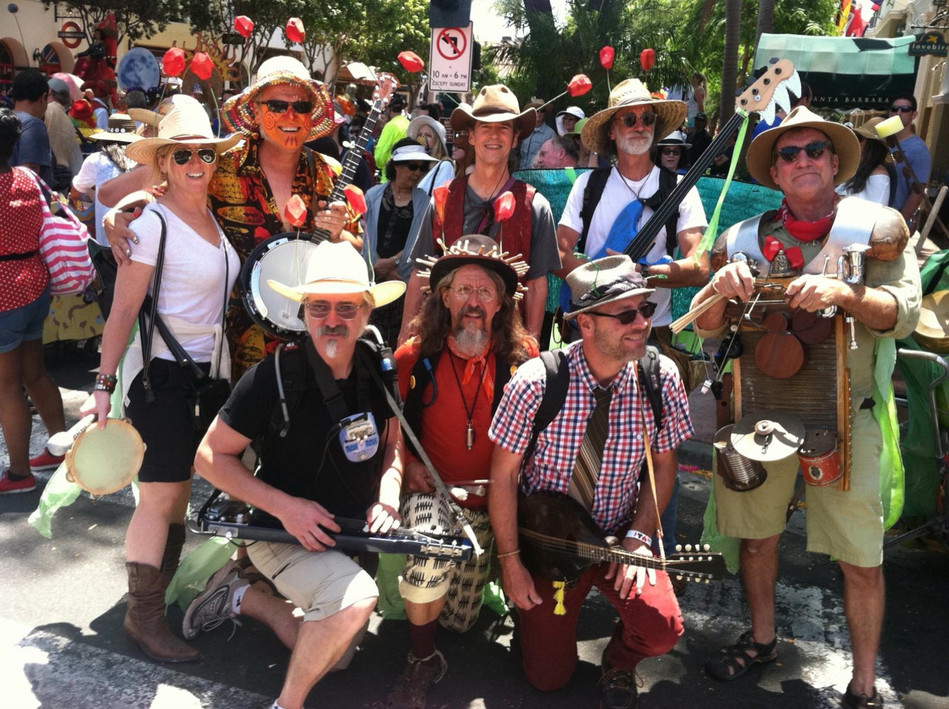 The Santa Barbara Solstice Parade - Studio 7 Folks
