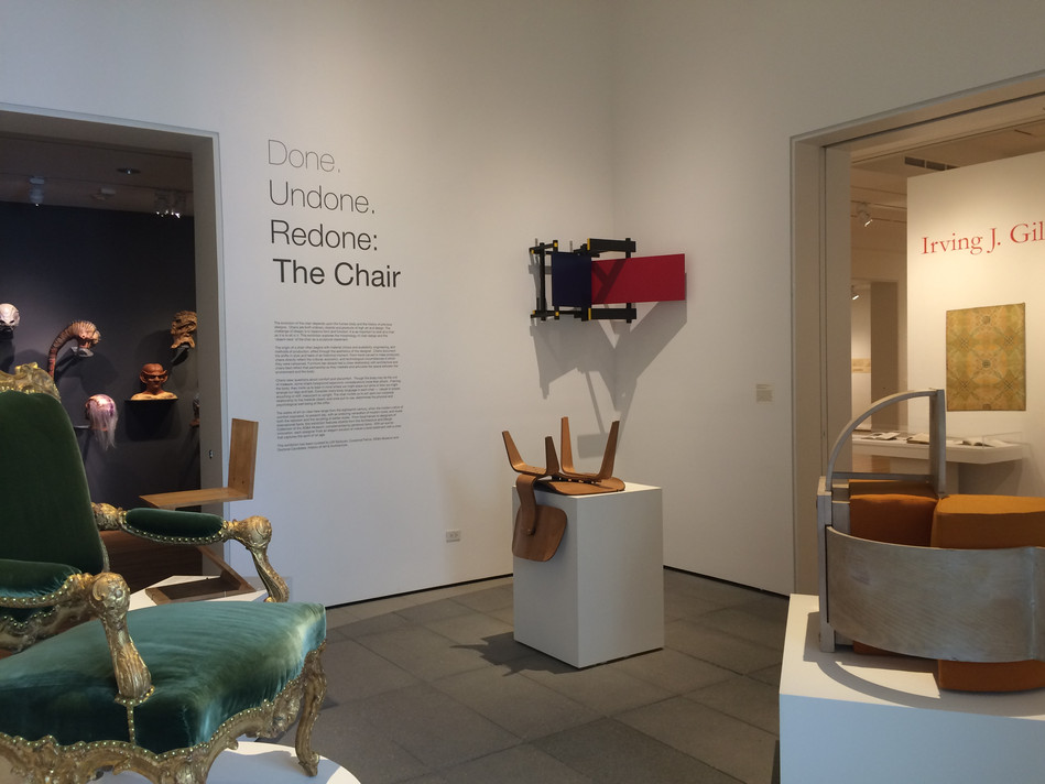 Done. Undone. Redone: The Chair