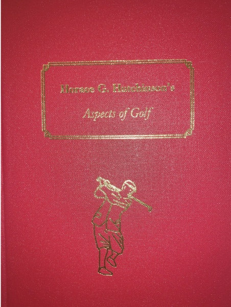 Horace G. Hutchinson's Aspects of Golf