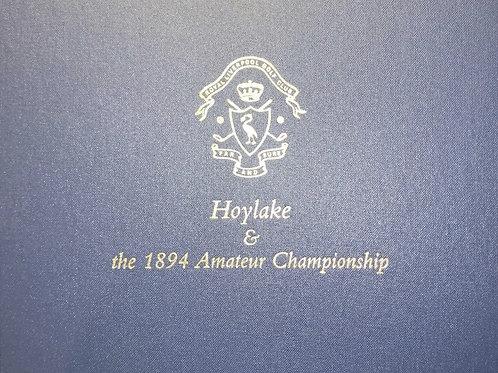Hoylake & the 1894 Amateur Championship