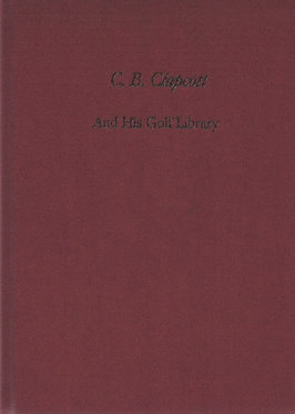 C.B. Clapcott and His Golf Library