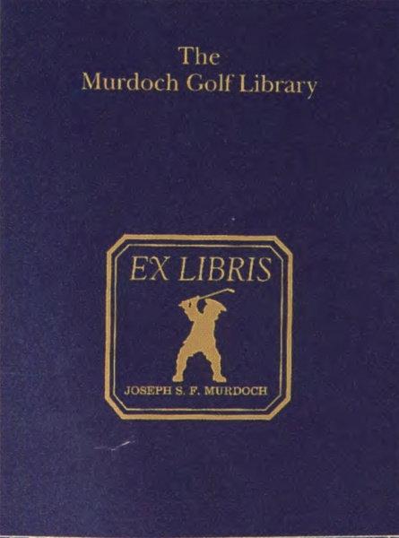 The Murdoch Golf Library