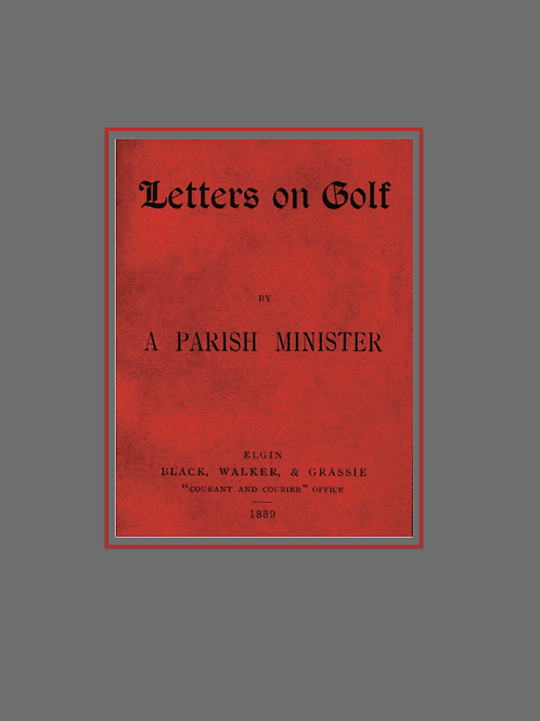 Letters on Golf