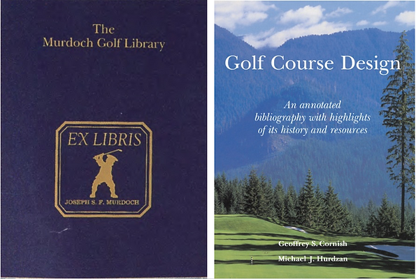 The Murdoch Golf Library and Golf Course Design