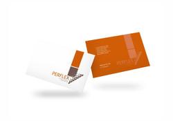 Perflex Ind. & Com. de Borrachas - Cartão de Visitas