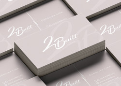 2 Built Arquitetura & Design - Cartão de Visitas