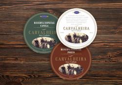 Cachaça Carvalheira - Rótulo para barril das Cachaças, Tradicional e Especial  Porto e Canela